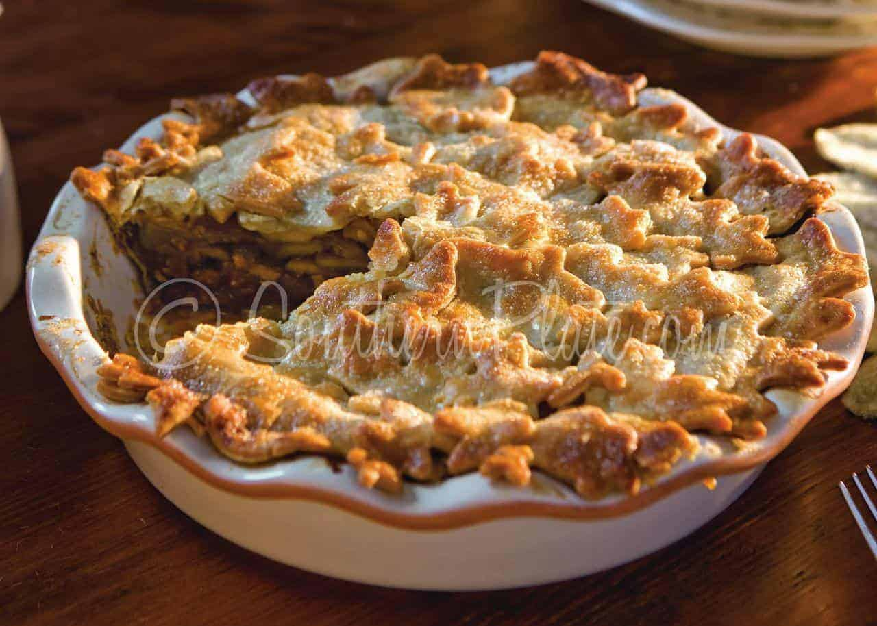Easy Apple-Caramel Pie | Southern Plate