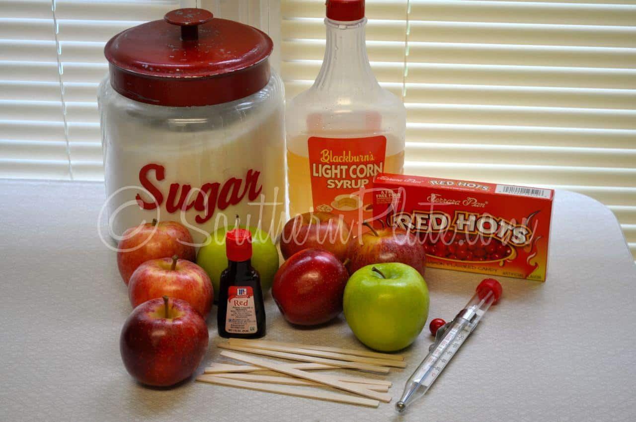 Old Fashioned Candy Apples Easy Southern Plate