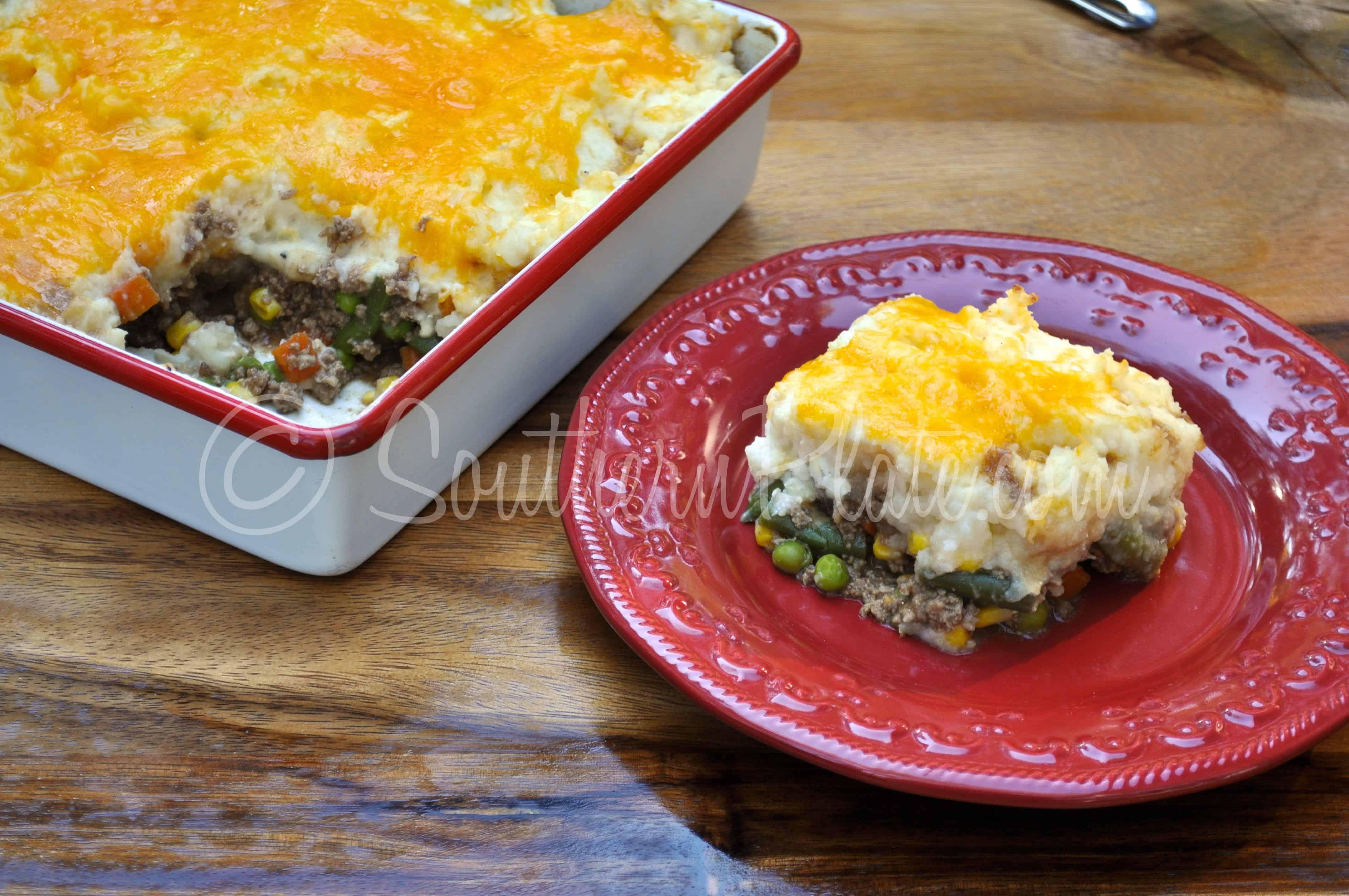 Southern Plate Shepherd's Pie