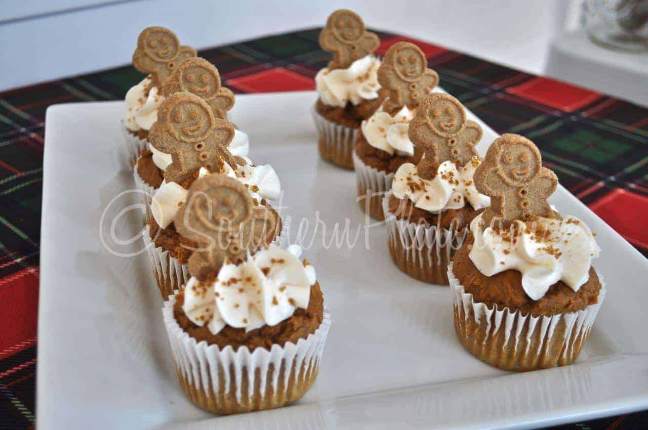 Quick Gingerbread Party Muffins Southern Plate