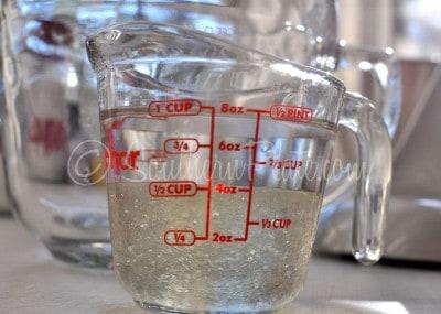 Measuring ingredients for Microwave Divinity