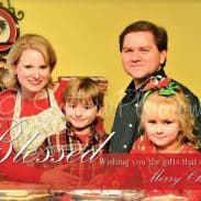 This is our Christmas card from 2010, oh how the kids have grown!