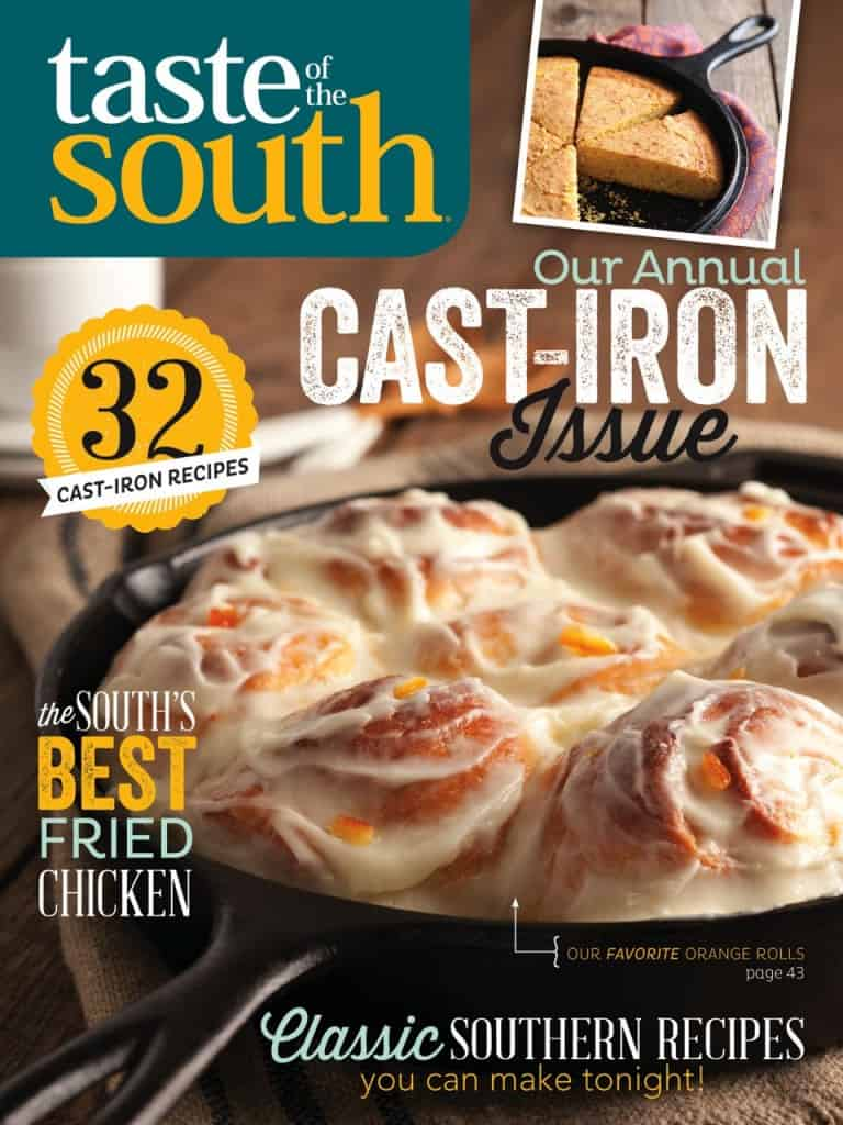 Taste of the South-Cast Iron Issue