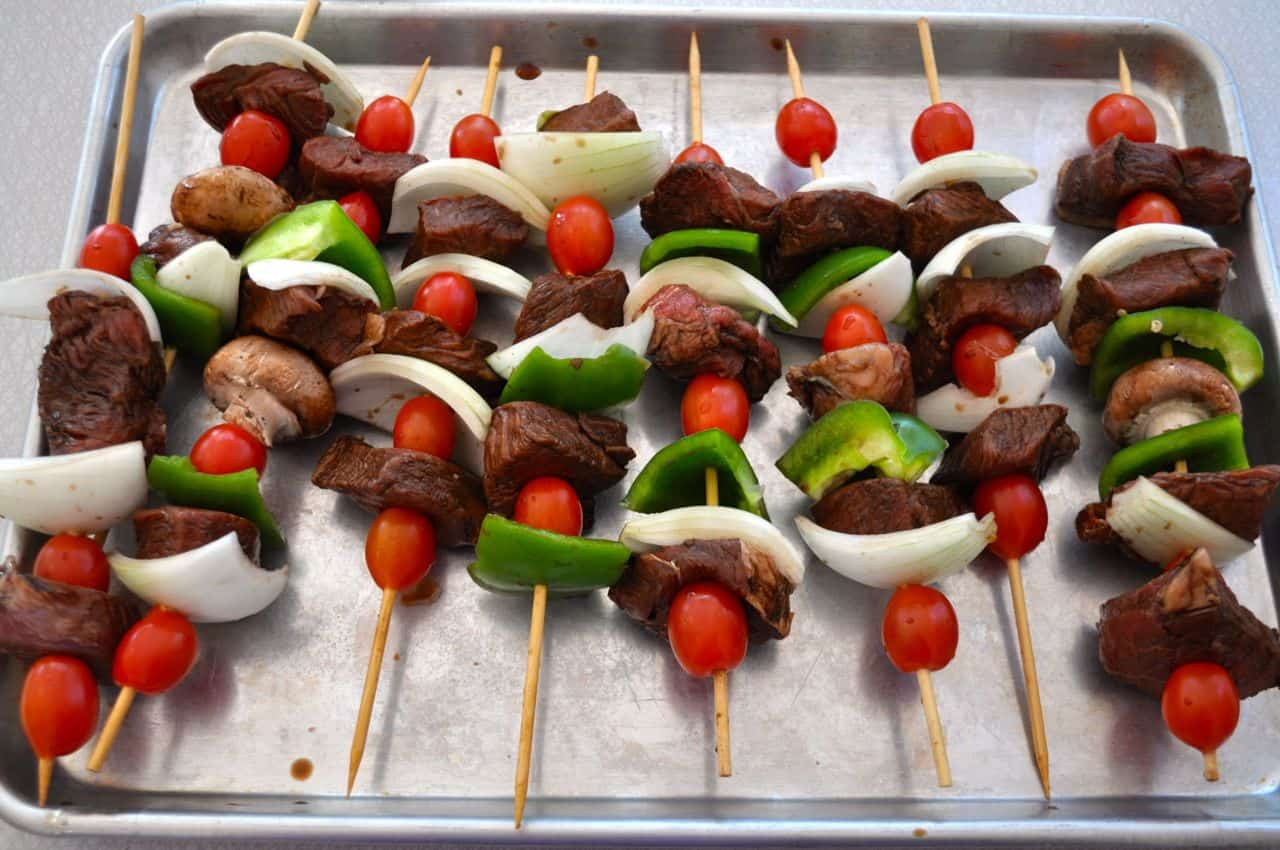 How long do i grill chicken kabobs - Using