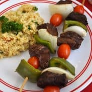 Oven Steak Kabobs – A special meal on a budget