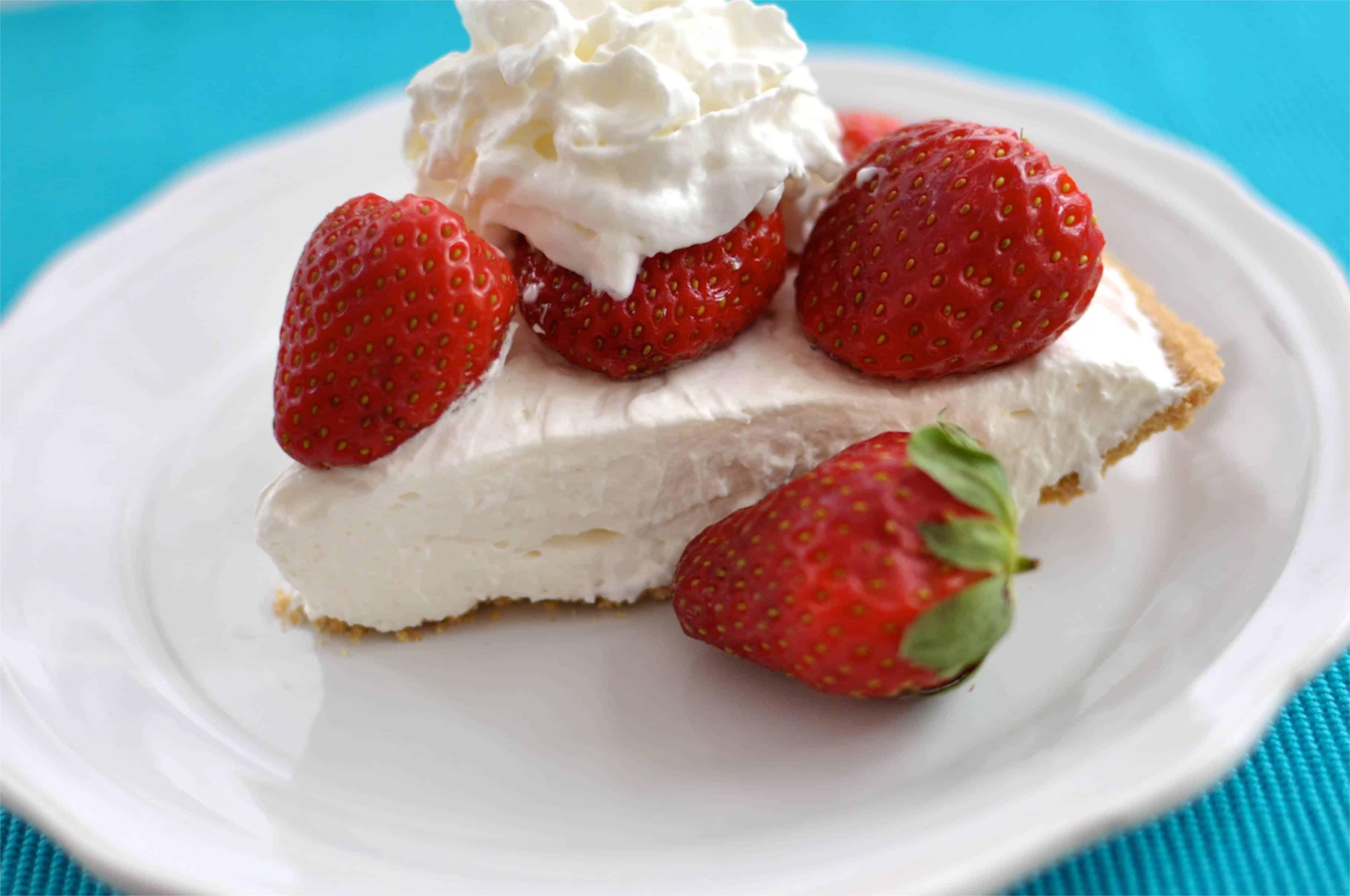 Light Cream Cheese Pie