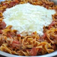 Skillet Lasagna from SouthernPlate