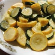 Simple Squash and Zucchini – Fall Over The Fences If You Have To