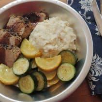 Roasted Pork Tenderloin with Balsamic Reduction (SUPER Easy!)