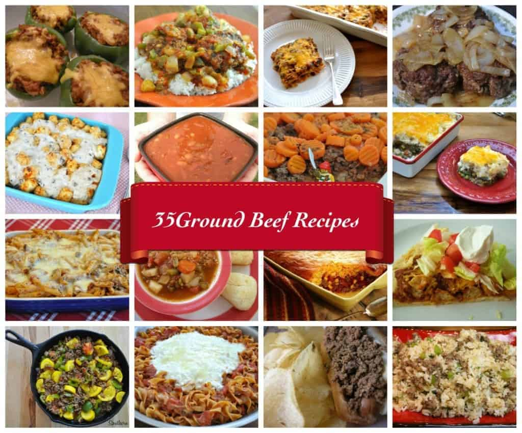 35 ground beef recipes to stretch your food dollar for Meals that can be made with ground beef