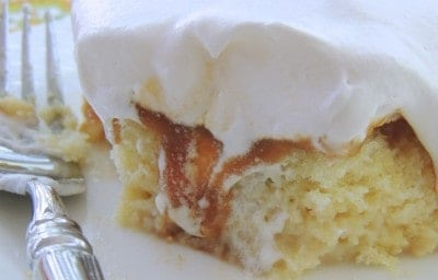 Cuatro Leches (Four Milk) Cake