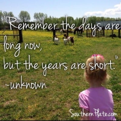 Remember the days are long now, but the years are short. unknown