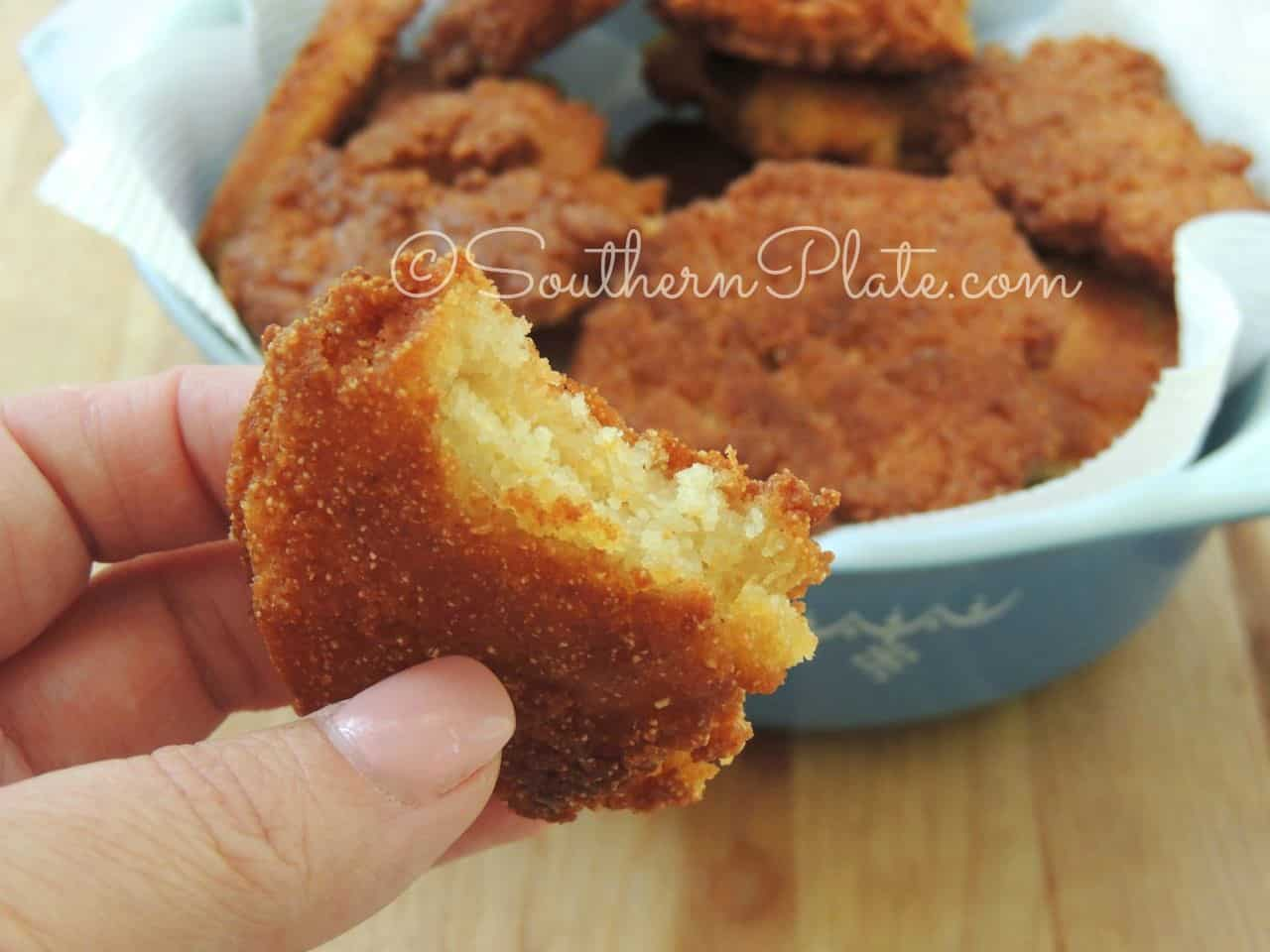 2 Ingredient Hot Water Cornbread Southern Plate
