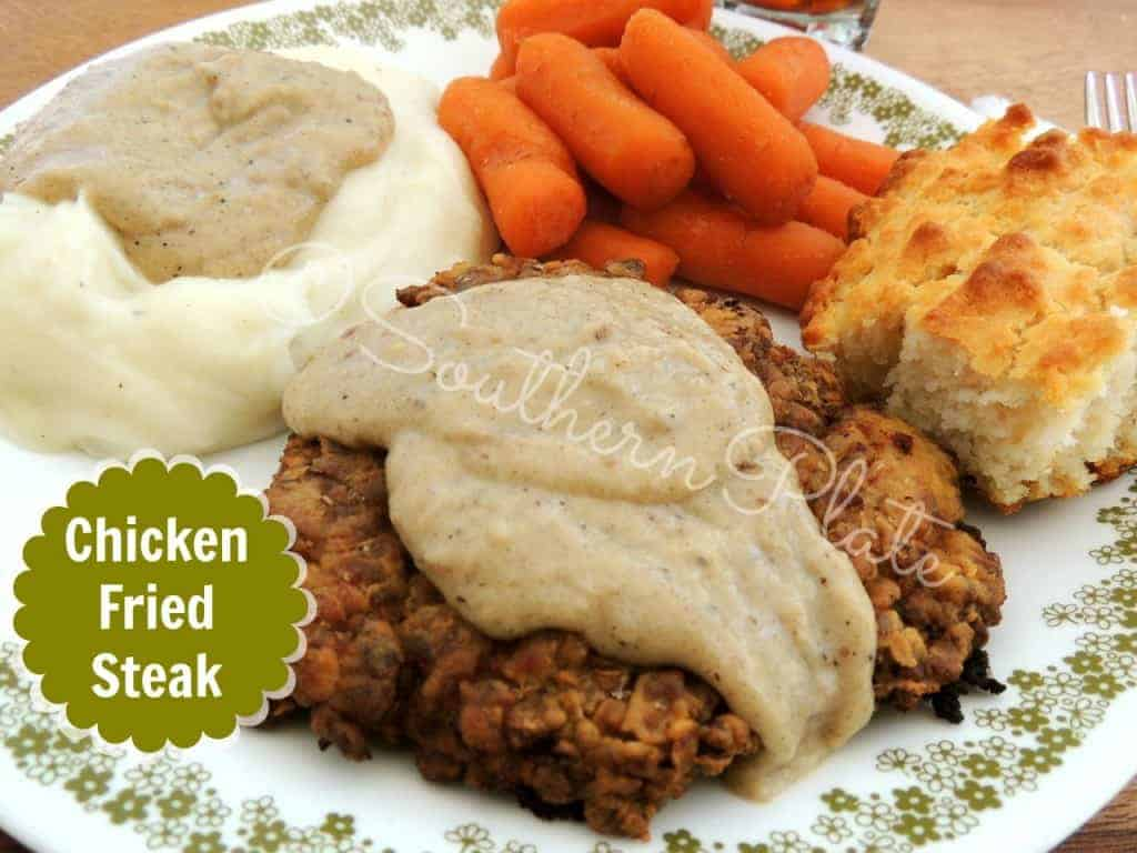 Chicken Fried Steak from SouthernPlate