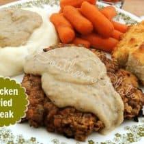 Chicken Fried Steak SouthernPlate
