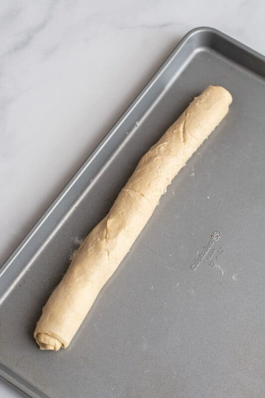 roll it up into a log