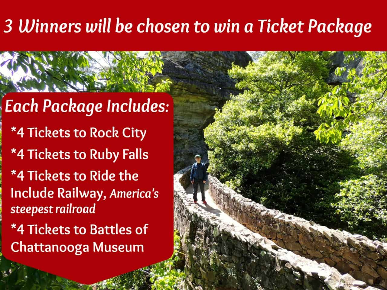 See Rock City Win A Four Pack Family Tickets To
