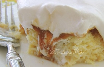 Four Milk Cake from SouthernPlate