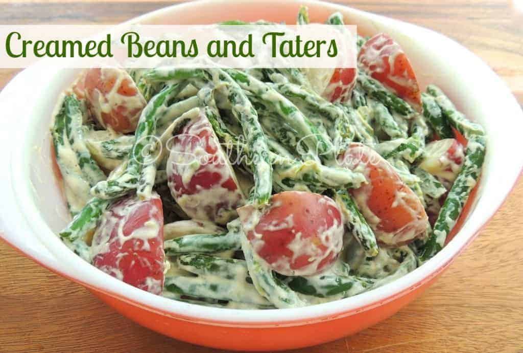 Creamed Beans and Taters SouthernPlate
