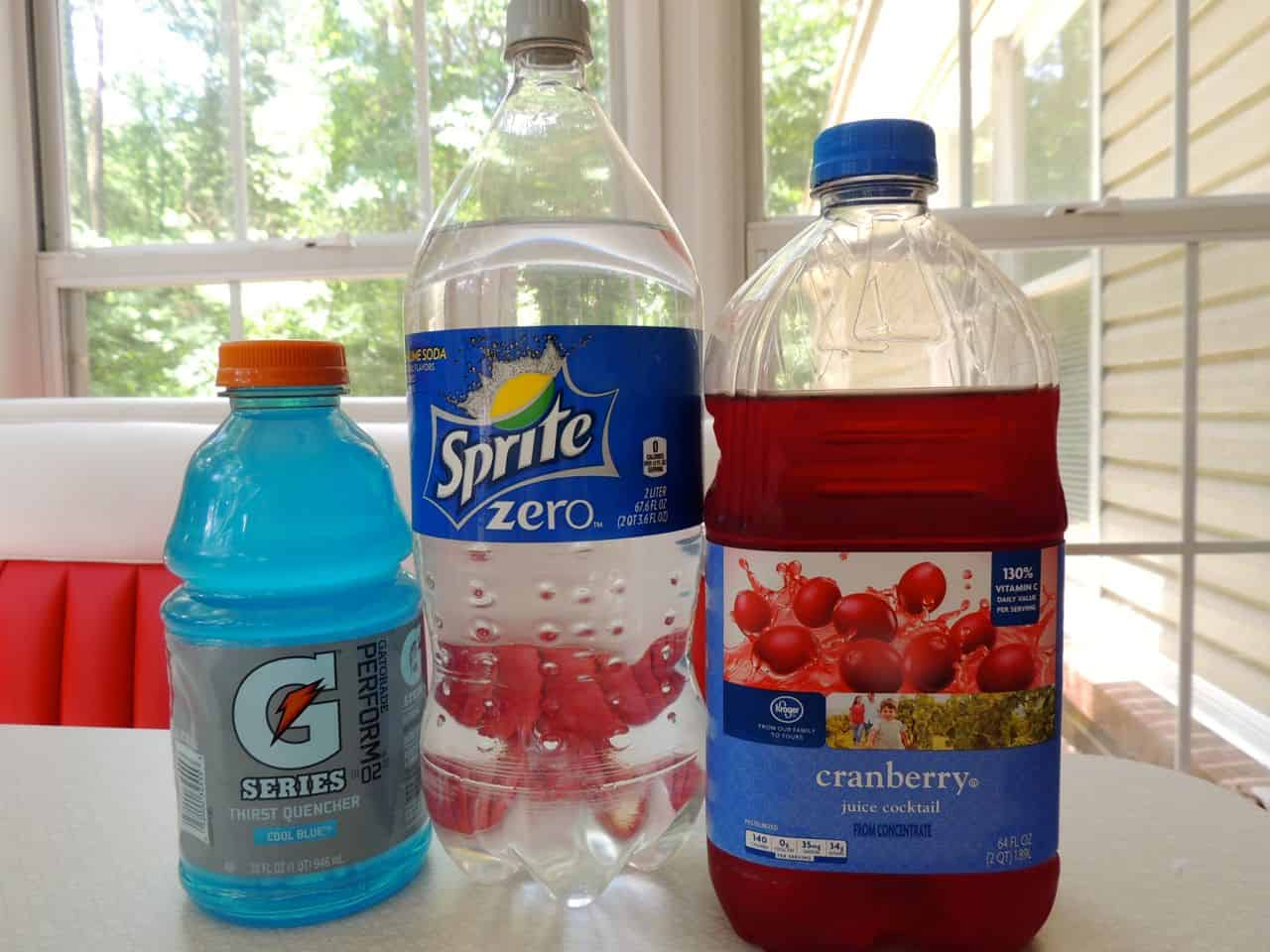 red white and blue spritzers southern plate