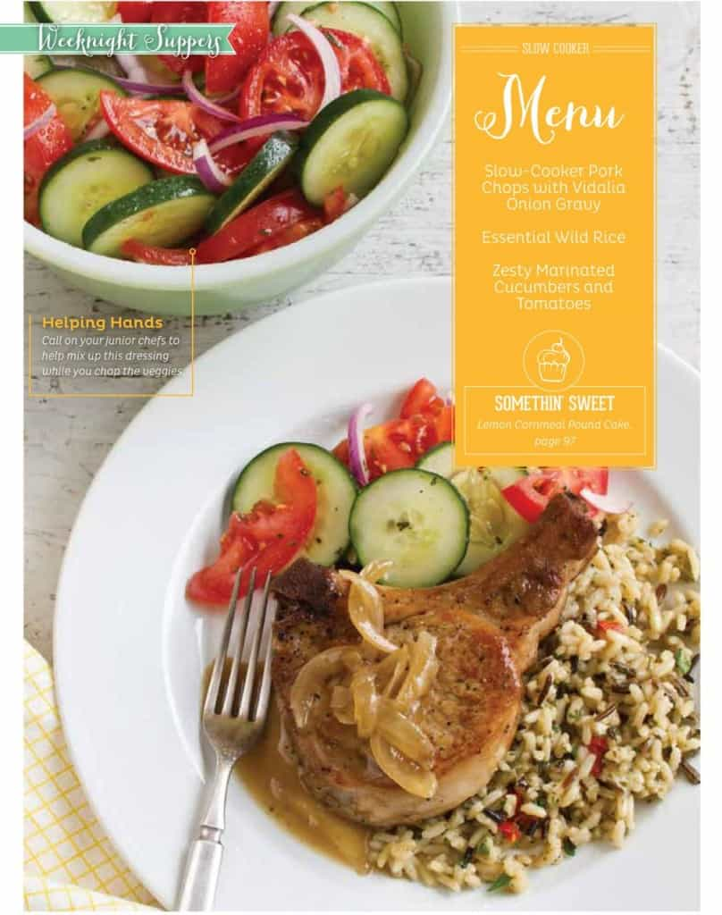 Southern Plate Magazine - 20 COMPLETE Supper Menus with a photo of each recipe! For a limited time only