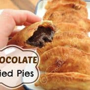 Chocolate Fried Pies (Pie Day Friday!)