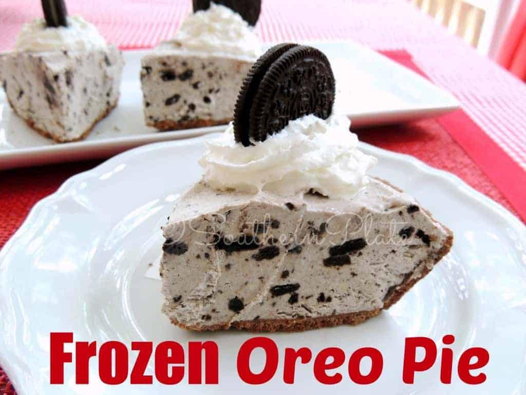 Frozen Oreo Pie