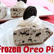 Frozen Oreo Pie