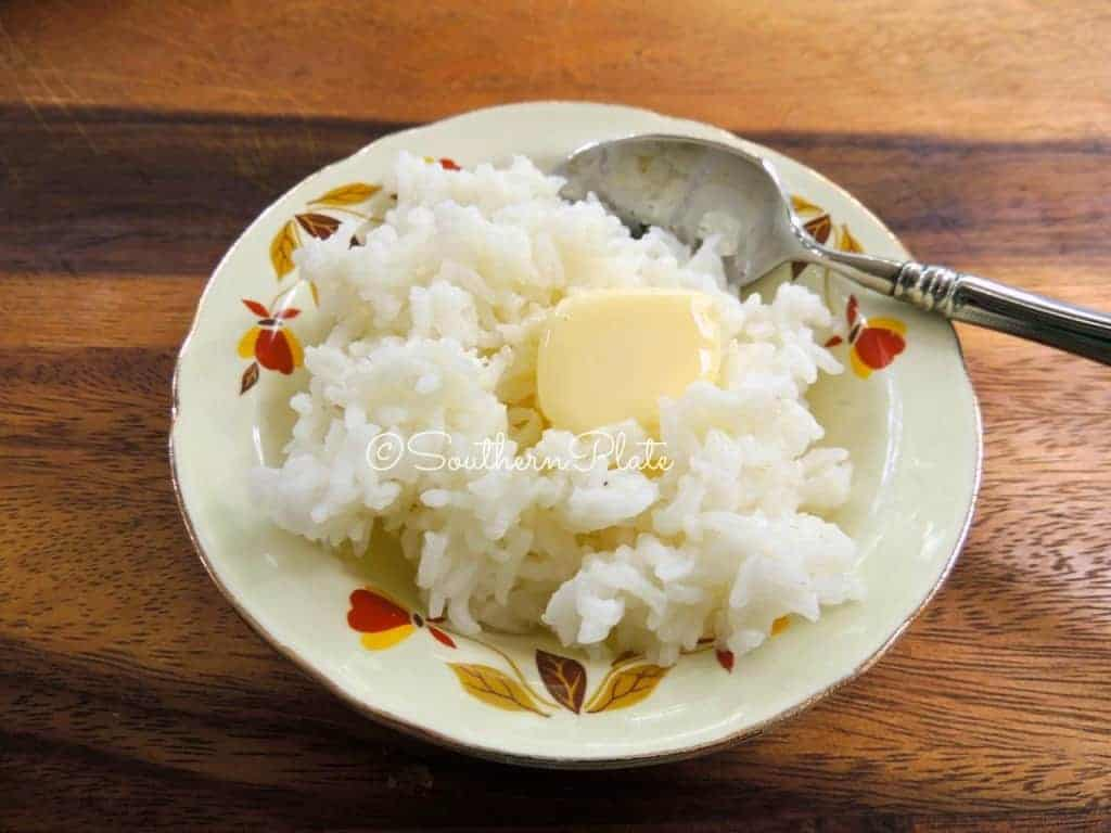 Hot Buttered Sweet Rice | Southern Plate
