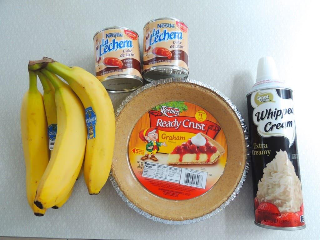 Caramel Banana Pie