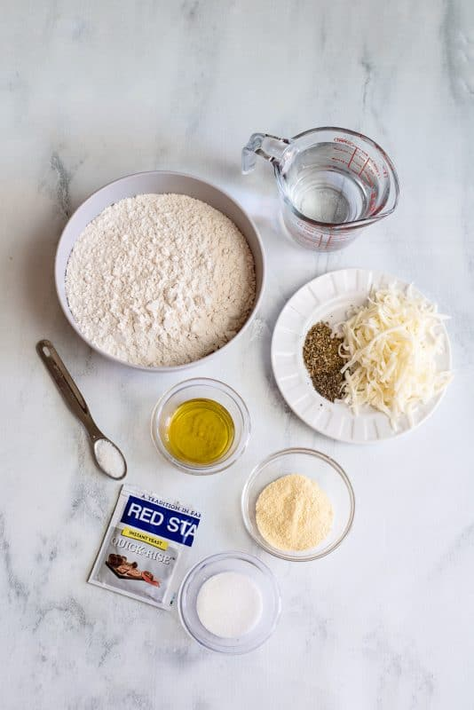 ingredients for stuffed pizza crust
