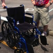 MY WHEEL CHAIR