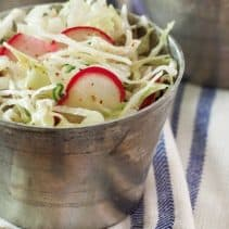 Mustard Slaw from SouthernPlate Magazine