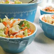 crunchy refrigerator salad