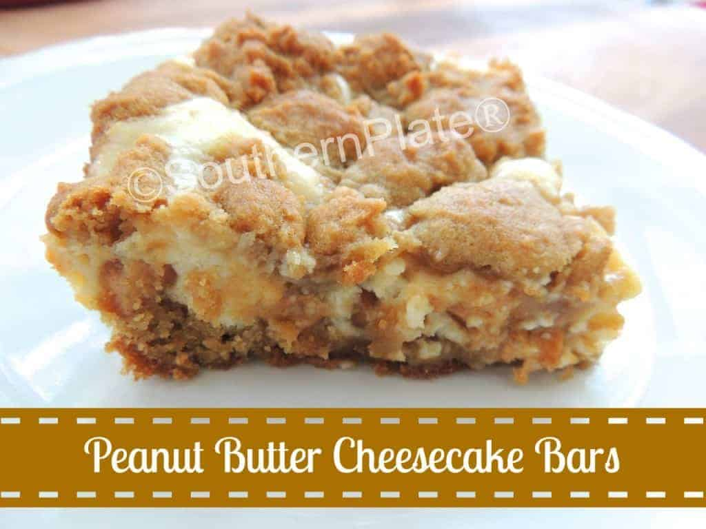 Peanut Butter Cheesecake Cookie Bars