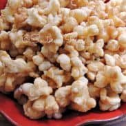 Butter Caramel Puff Corn – No Kernels, No Hulls!