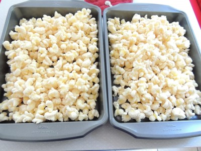 Butter Caramel Puff Corn