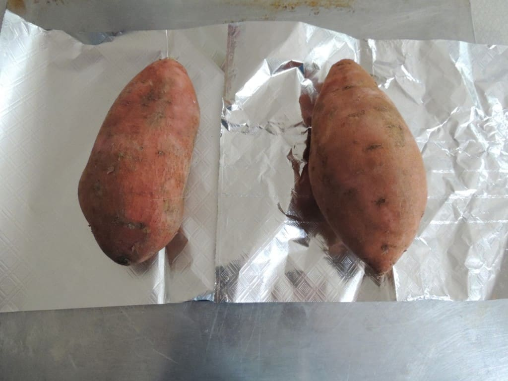 Perfect Baked Sweet Potatoes