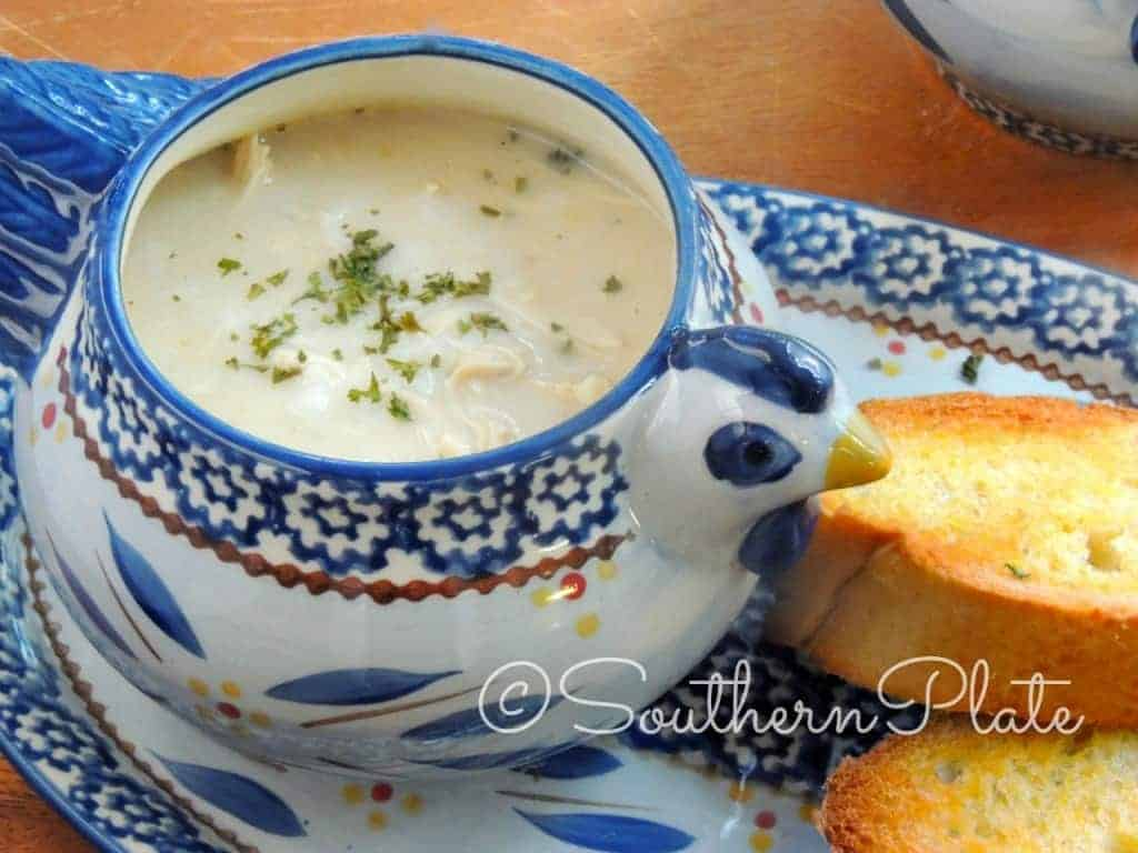 Simply Delicious Chicken & Rice Soup