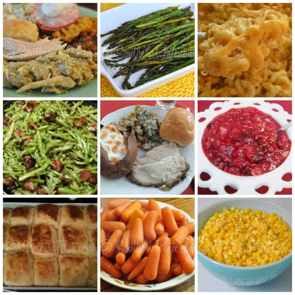 main meal collage
