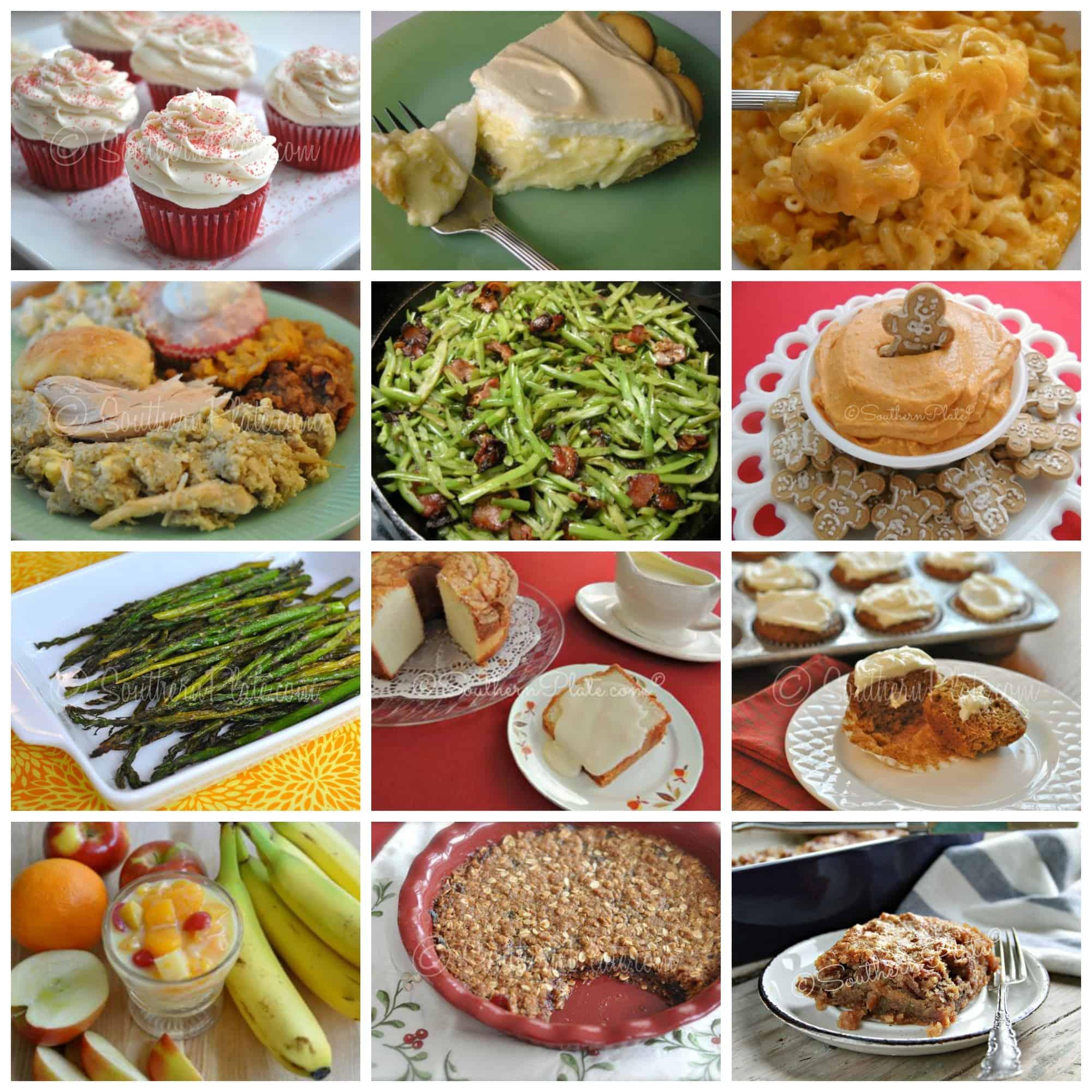Holiday menu bonanza with time saving tips 70 recipes for Southern christmas dinner menu ideas