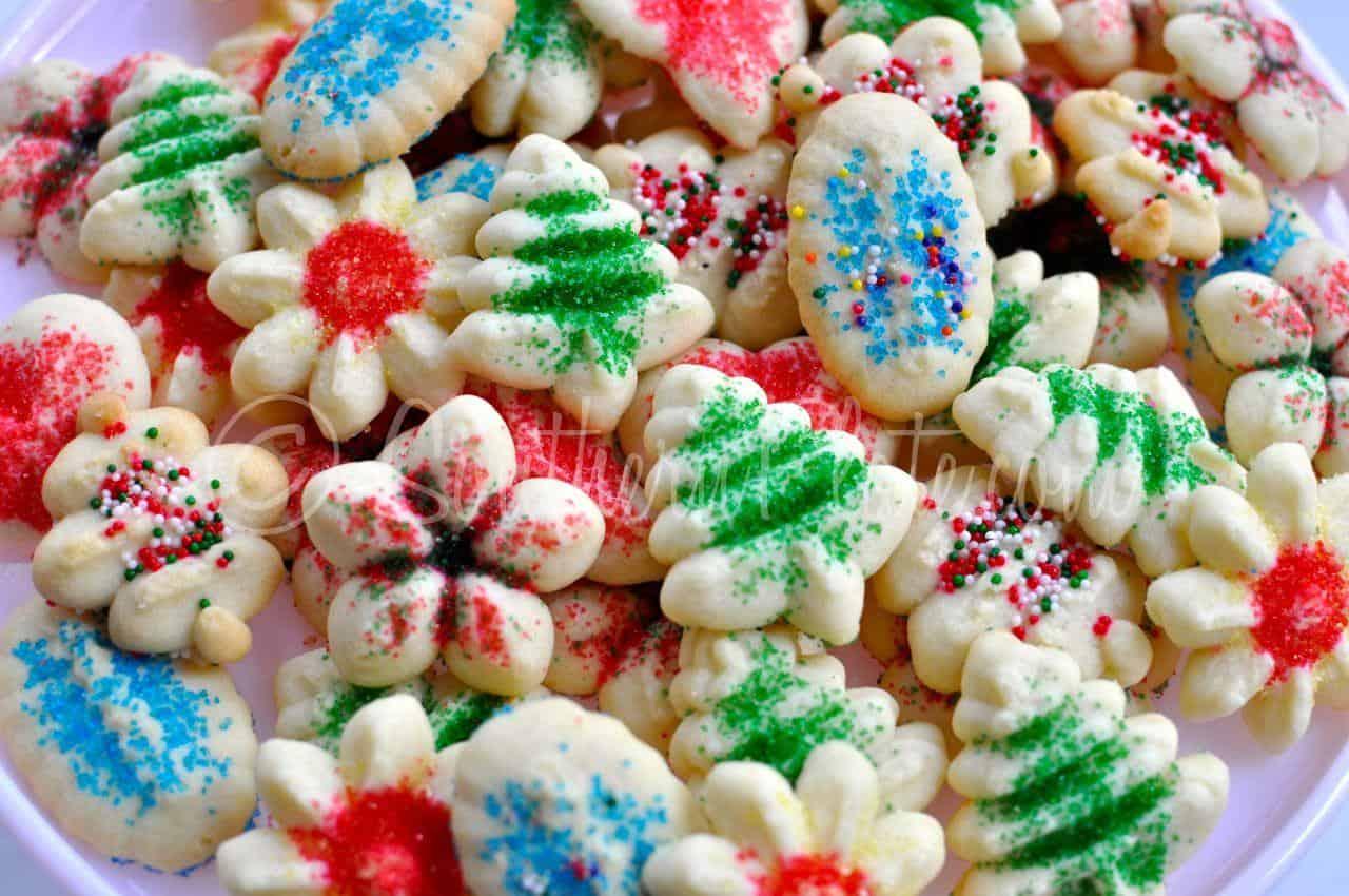 Simple Spritz Cookies