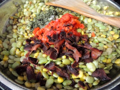 Christy Jordan's Super-fast Succotash - DELICIOUS