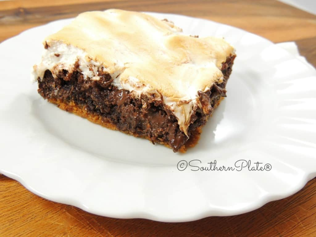 5 Min Prep S'Mores Brownies - and the right time for you to shine