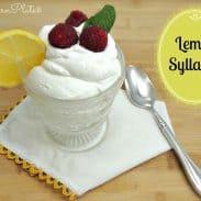 Simple Lemon Syllabub