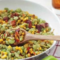 Christy Jordan's Super-fast succotash