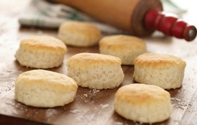 Classic 3 Ingredient Southern Biscuits