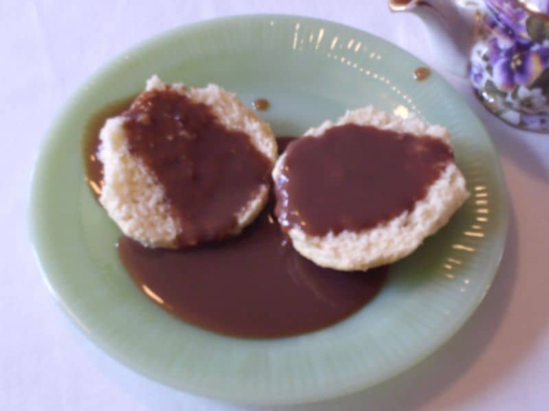 chocolate-gravy