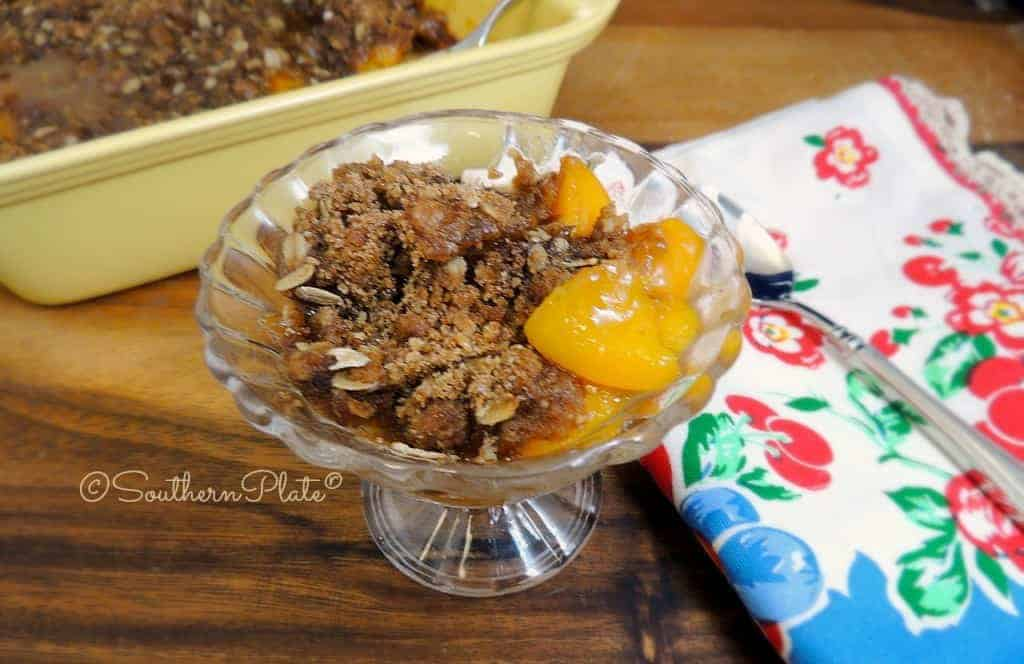 Peach Crisp - And Standing Up For Yourself