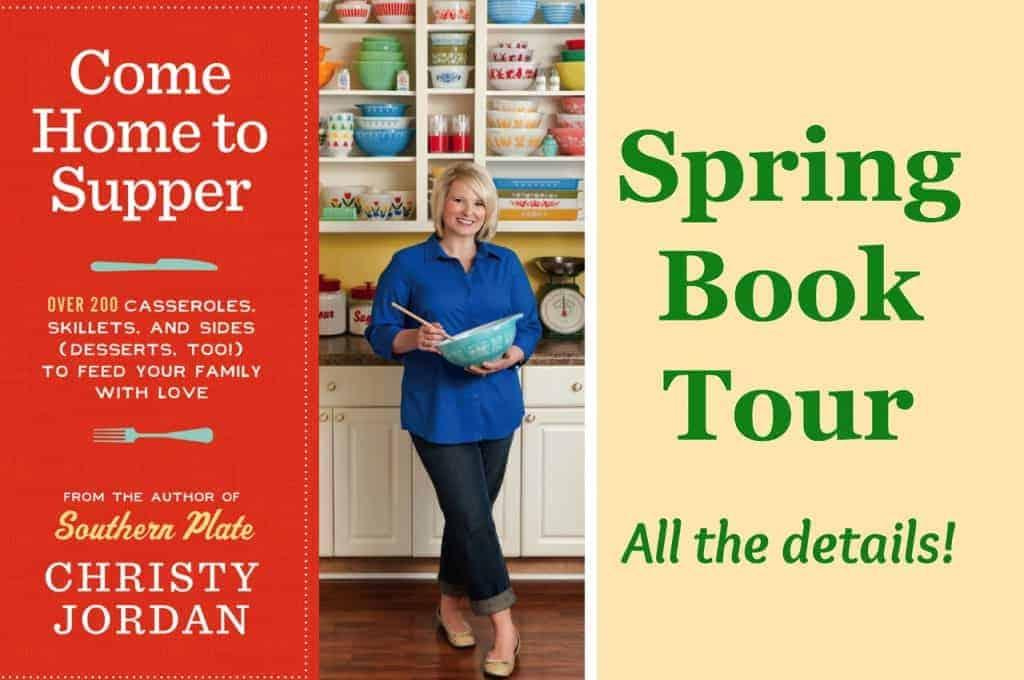 spring book tour